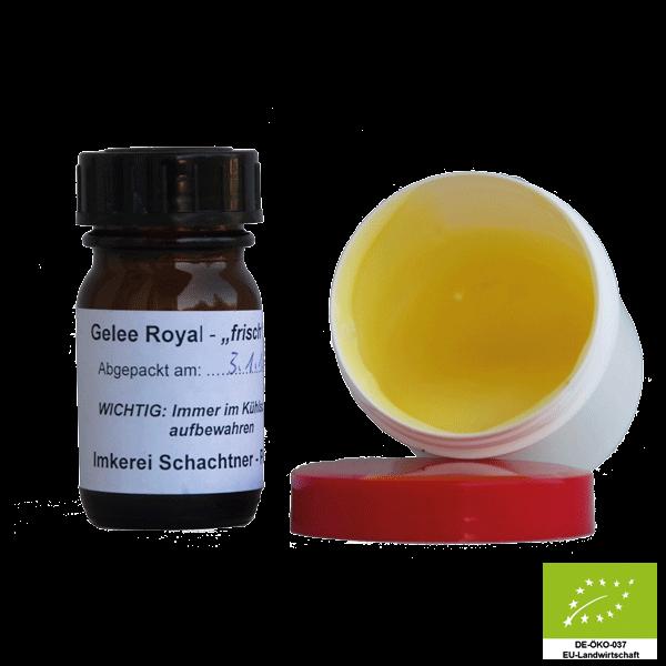 Gelee Royale frisch - pure Energie in Bioqualität