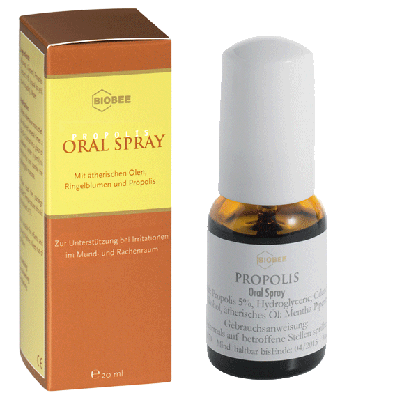 Propolis Oral Spray, 20ml Mundspray