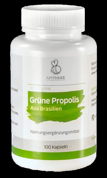 Grüne Propolis Kapseln ohne Zusatzstoffe - (Propolisextrakt aus Brasilien)