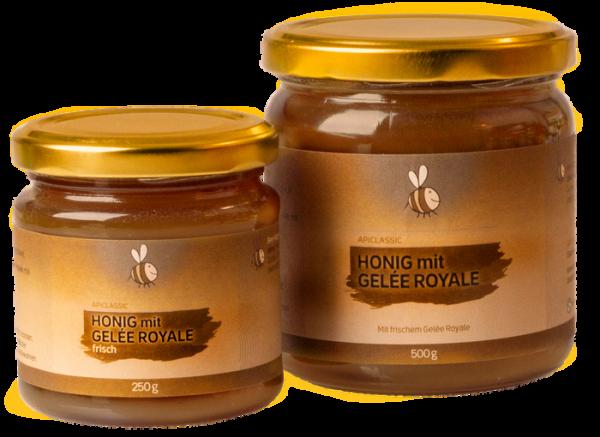 Gelée Royale frisch mit Honig