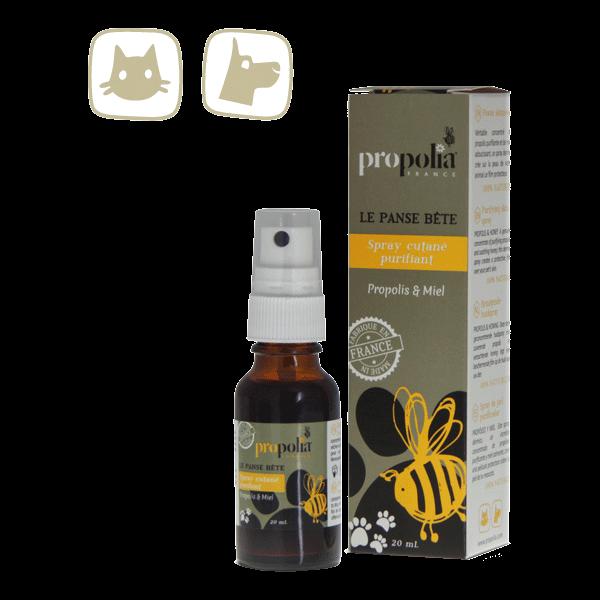 Hautreinigungs Spray mit Propolis für Hund und Katz