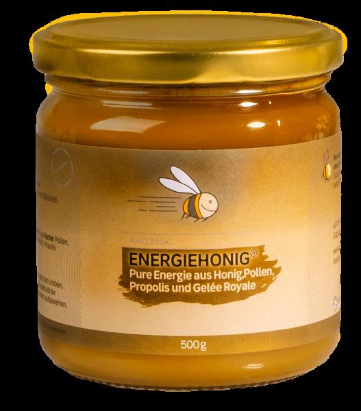 Vornbacher Energiehonig® - Honig Energie mit Pollen, Gelee Royale und Propolis - Eigene Herstellung