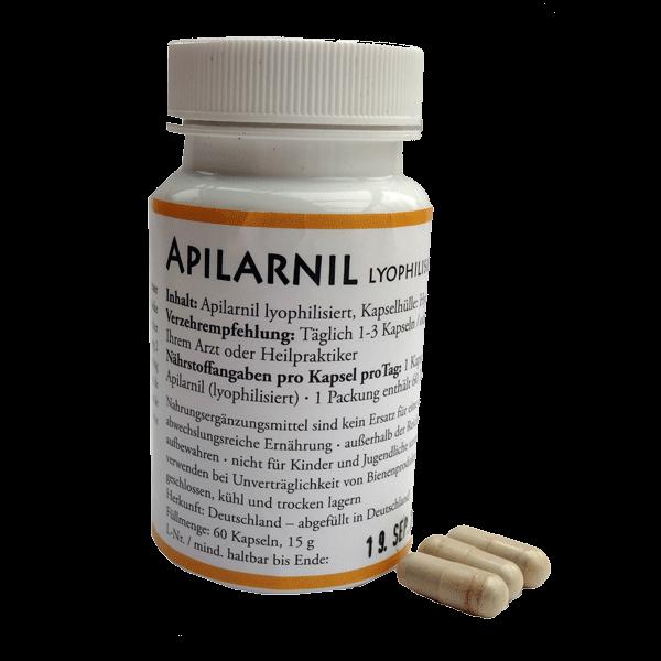 Apilarnil lyophilisiert in Kapseln 60 Stück zu 250 mg